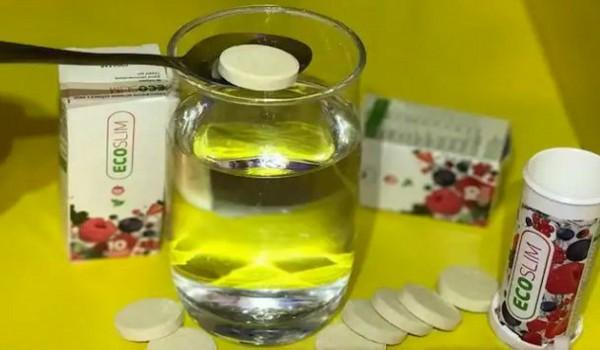 Eco Slim tabletleri ariqlamaq ucun
