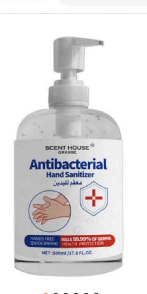 Antibacterial gel 500 ml