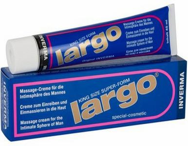 Largo krem - cinsi orqani böyüdən krem